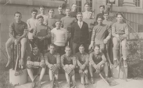 1926 Cortland High School Lacrosse
