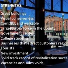 View the Strategy-Driven Downtown Transformation / Market Analysis Presentation.